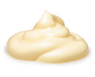 Cream isolated Royalty Free Stock Photos