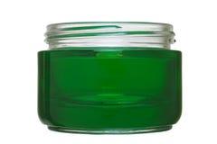 Cream jar Royalty Free Stock Photo