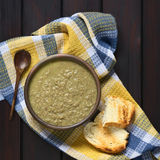 Cream of Lentil Soup Royalty Free Stock Photography