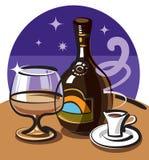 Cream liquor Stock Image