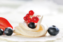 Cream meringues Royalty Free Stock Photos