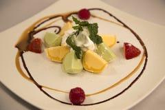 cream mochi льда стоковое изображение