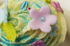 Cream muffin Royalty Free Stock Image