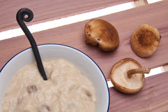 Cream of Mushroom Soup Royalty Free Stock Photo