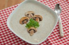 Cream of Mushroom Soup Stock Photos
