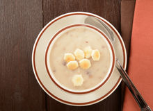 Cream of mushroom soup Royalty Free Stock Images