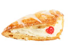 Cream Pastry Stock Photo
