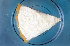 Cream pie Royalty Free Stock Photography