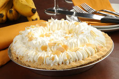 Cream pie Royalty Free Stock Photos
