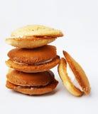Cream pie Stock Photo