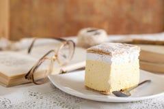 Cream pie Stock Images