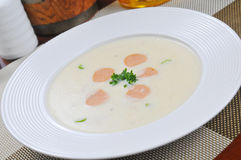 Cream potato Soup Royalty Free Stock Photos