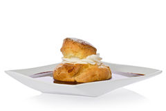 Cream Puff Royalty Free Stock Photography