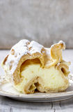 Cream puff stock images
