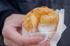 Cream Puff. Or Choux or Stock Image