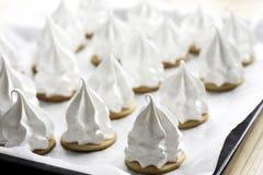 Cream puff Stock Images