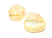 Cream puff Stock Photos