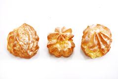 Cream Puff Series 02 Stock Photos