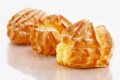 Cream Puff Series 02 Royalty Free Stock Images