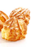 Cream Puff Series 03 Royalty Free Stock Images