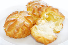Cream Puff Series 03 Stock Image