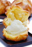 Cream Puff Series 03 Stock Photos