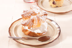 Cream puffs Royalty Free Stock Photo