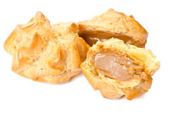 Cream puffs Stock Images