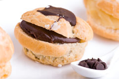 Cream Puffs. Stock Images