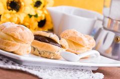 Cream Puffs. Royalty Free Stock Photo