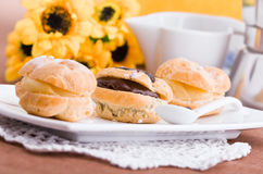Cream Puffs. Stock Photo