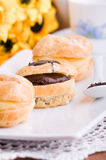 Cream Puffs. Royalty Free Stock Photography