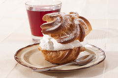Cream puffs Royalty Free Stock Images