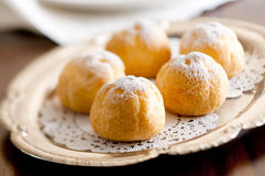 Cream Puffs Royalty Free Stock Photography