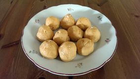 Cream puffs Stock Image