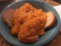 Cream of pumpkin Stock Photos