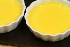 cream ramekins заварного крема Стоковое Изображение RF