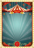 Cream retro circus background Royalty Free Stock Photography