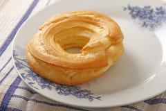 Cream ring dessert Stock Photos