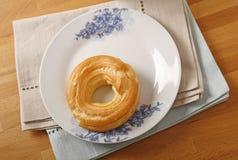 Cream ring dessert Stock Photo