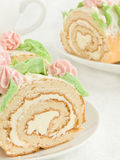 Cream roll Royalty Free Stock Images