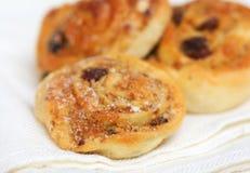Cream rolls (buns) Royalty Free Stock Photography