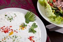 Cream Salad Stock Images