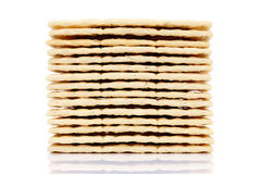 Cream sandwich crackers Stock Photos