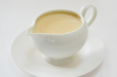 Cream Sauce Royalty Free Stock Images