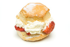 Cream Scone Stock Photos