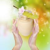 Cream Royalty Free Stock Photo