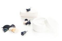 Cream and soap Stock Images