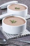 Cream Soup Stock Photo
