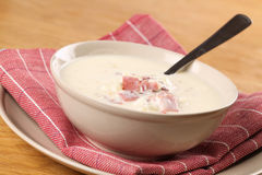 Cream soup Stock Image